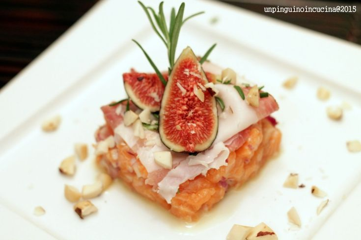 tartare-di-salmone-con-lardo-e-fichi