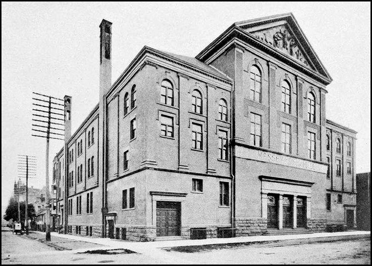Massey Hall c.1900