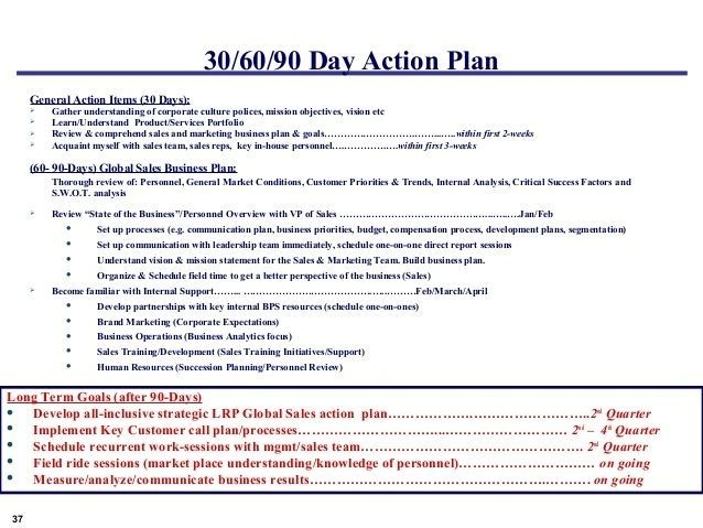 30 60 90 Day Sales Management Plan Template Jaxcattackle