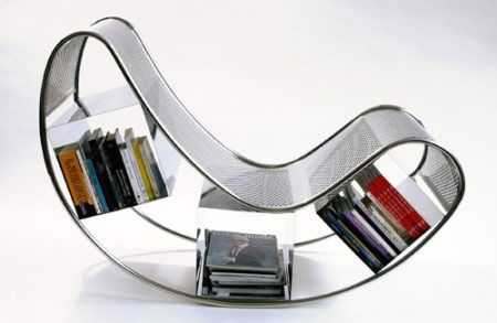 Designed by Pucci de Rossi, the Dondola is a rocking chair that combines clean lines and curvaceous shapes.