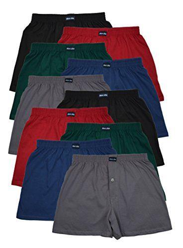 #10 #Boxershorts in #klassischen #Grundfarben  #locker