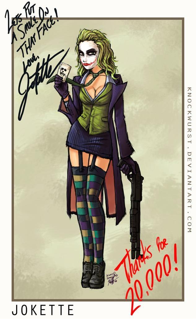 The-joker-female :: ¡ OH MY Doll : El juego de las muñecas (doll, dolls, dollz) virtuales - juego de moda, juego de estilismo !