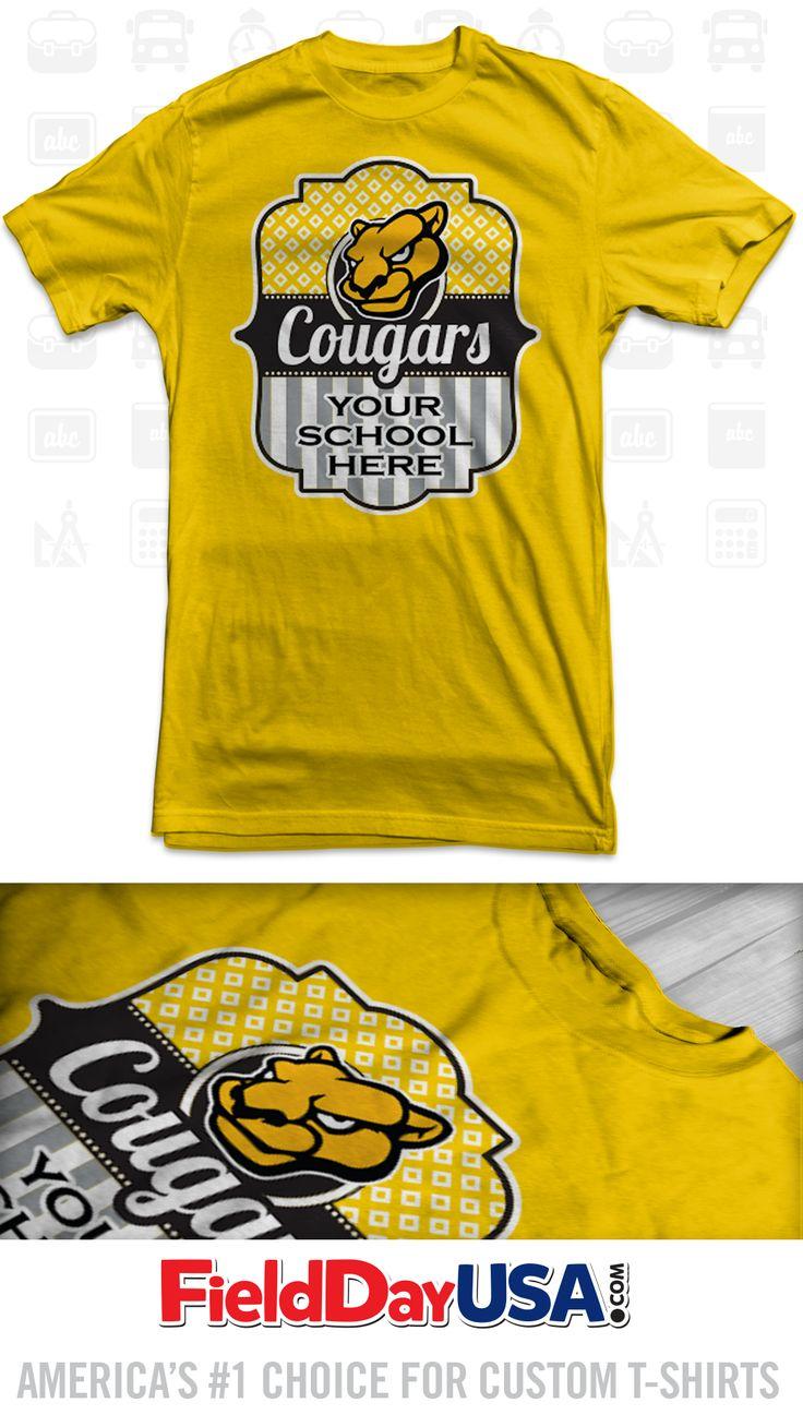 8 best School Mascot T-shirt Designs images on Pinterest ...