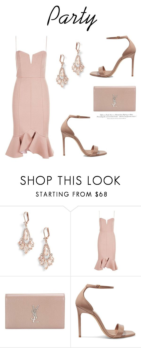 """""""743"""" by meldiana ❤ liked on Polyvore featuring Kate Spade, Nicholas, Yves Saint Laurent and H&M"""