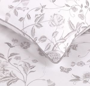 Summer Palace Dove Grey Duvet Cover
