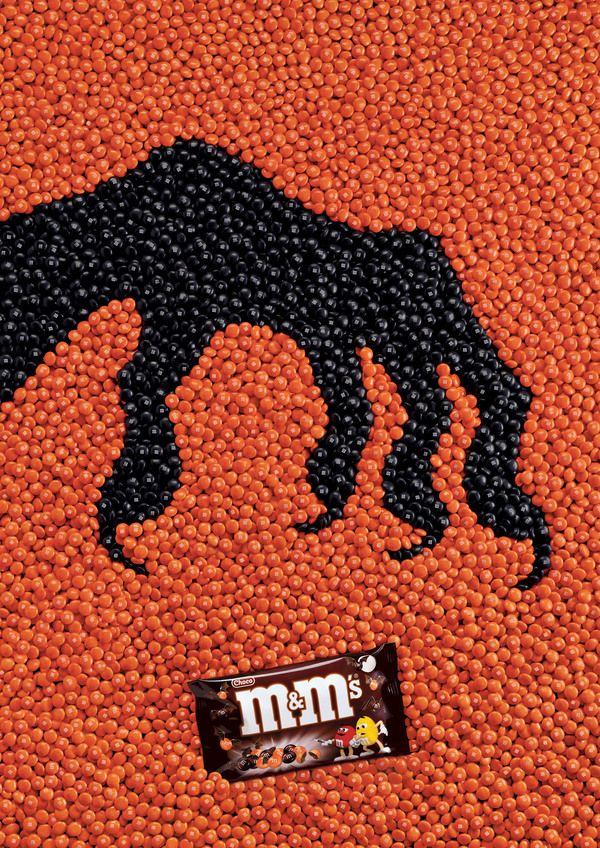 M&M's Halloween AD