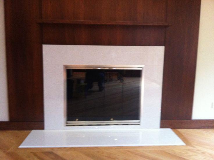 Quartz Fireplace Surround : Images about deco fireplace on pinterest