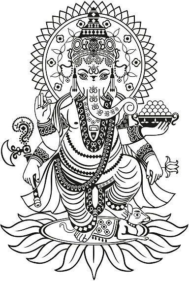 Wandtattoo, Home affaire, »Ganesha«, in 2 Größen
