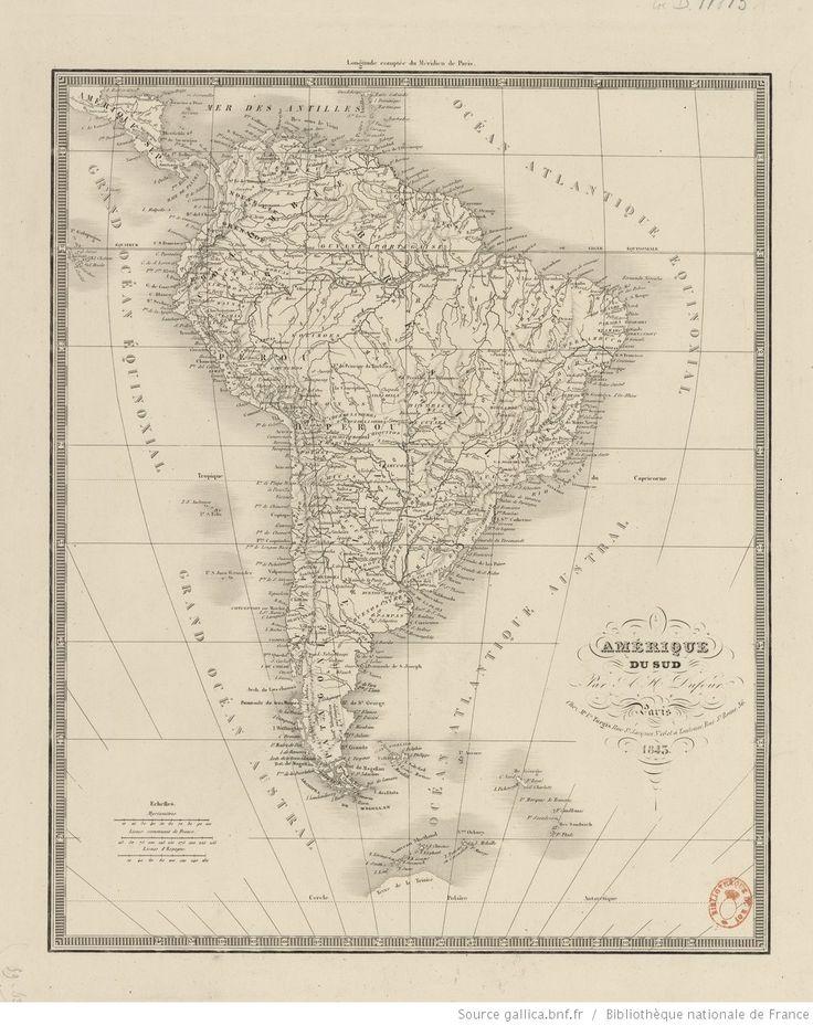 Amérique du Sud / par A.-H. Dufour