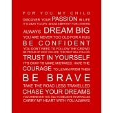 For my child