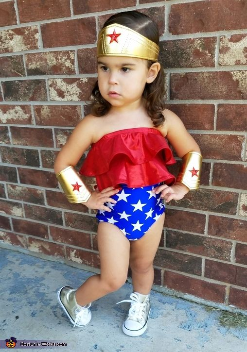 wonder woman baby girl costume idea - Halloween Costume Idea Women