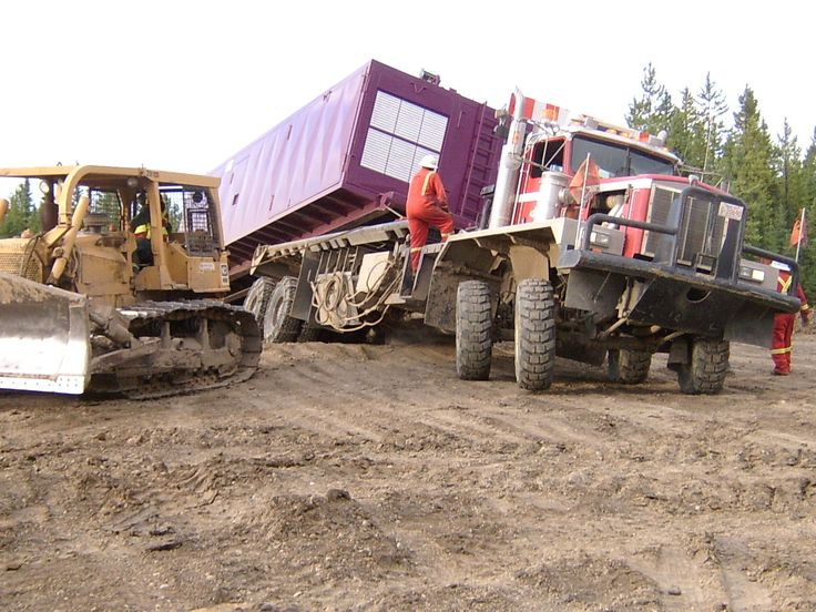 Pin by Hunter M on Alberta Rig Move Trucks, Built truck