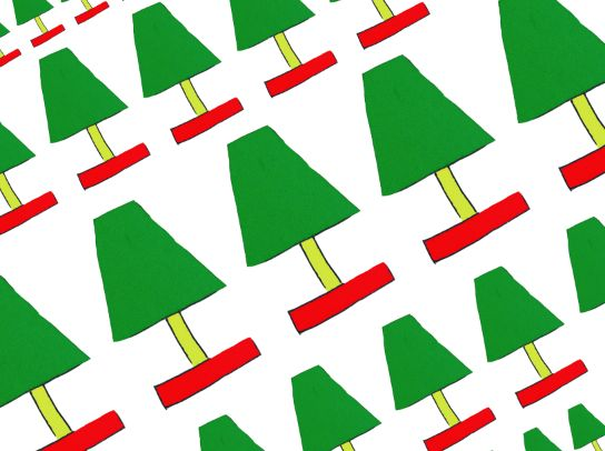 Lamp pattern. This would be better for wrapping papers, because they are in diagonals which reminds us of ribbons used for wrapping.