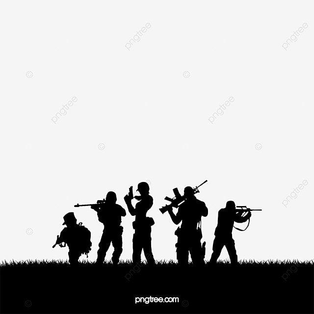 Gambar Tentara Hitam Clipart Tentara Hitam Tentara Png Transparan Clipart Dan File Psd Untuk Unduh Gratis In 2021 Army Day Smoke Background Army