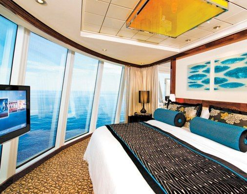 Luxurious Cruise Cabins for Honeymooners. The Haven, Norwegian's Epic. Features its own pool, sun deck, hot tub, and 24-hour butler service.