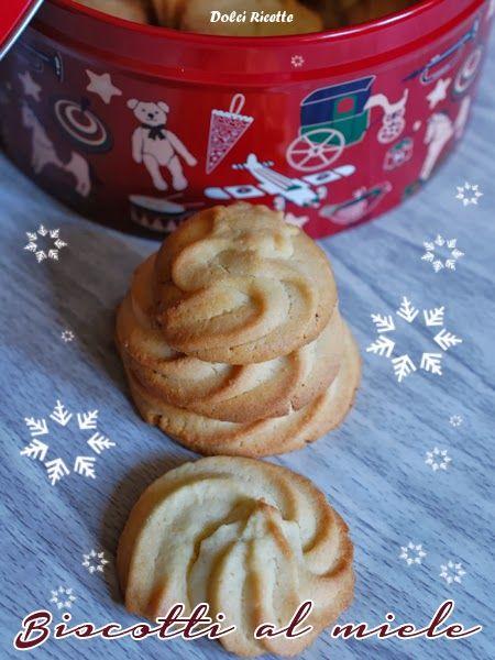 Biscotti al miele -  Honey cookies