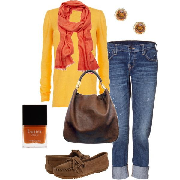 Perfect for Fall: Ugg Boots, Casual Outfit, Color Combos, Bright Color, Orange Scarfs, Fall Outfits, Fall Fashion Color, Cute Love, My Style