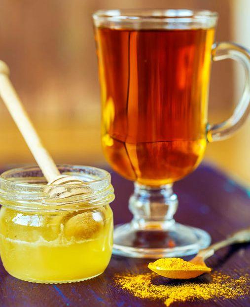 Ceai de Turmeric cu Piper și Miere, antiinflamator si antioxidant puternic