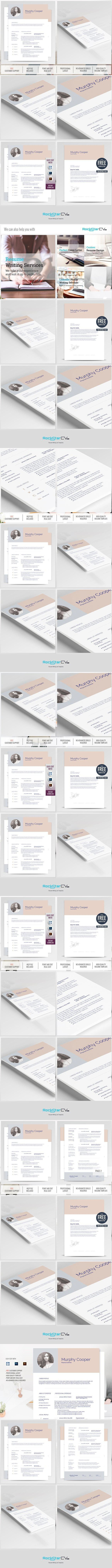 resume template free cover letter resume templates - Cover Letter And Resume Format