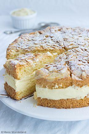 Bienenstich Torte Einfach