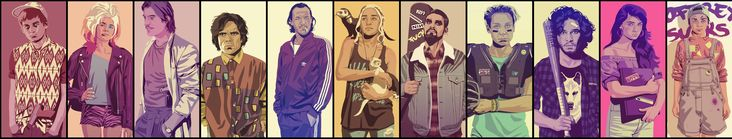 [No Spoilers] 90s GoT (updated with artist's latest characters) - Imgur