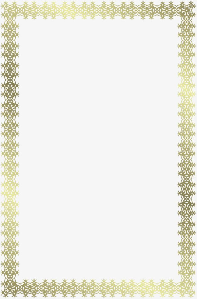 Vector Border Exquisite Pattern Gradient Clace Png And Vector With Transparent Background For Free Download Certificate Border Borders For Paper Border