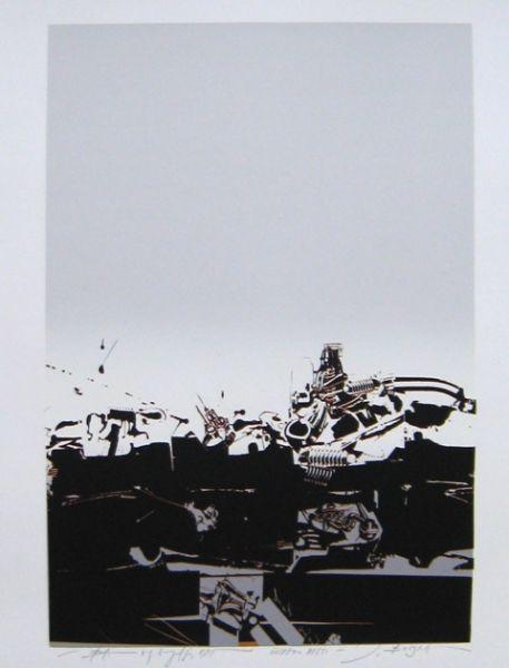 Janez Boljka: Iron City #JanezBoljka #artist  #ContemporaryRealist #SlovenianArtist #Slovenia  #GraphicDesigner