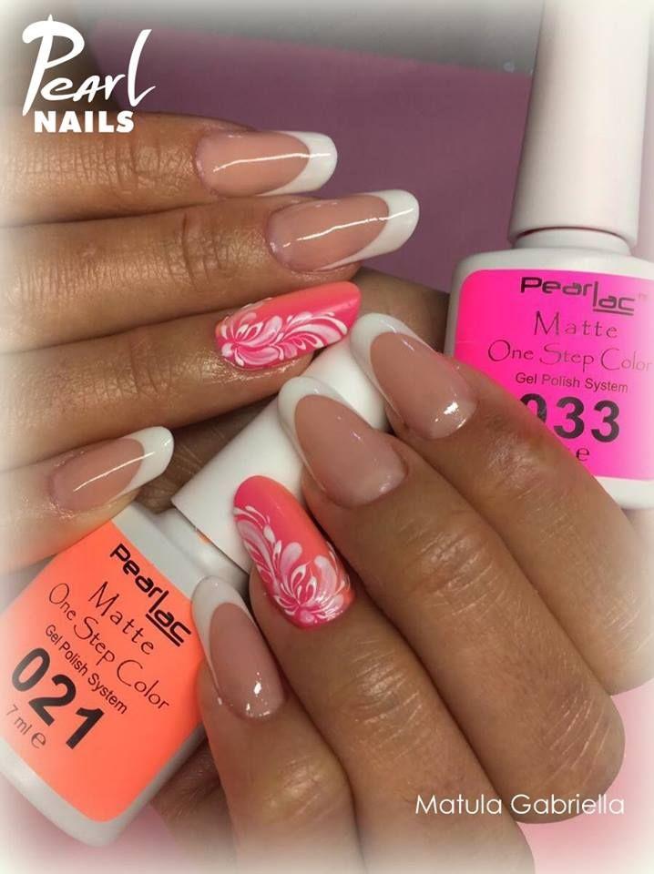 Felhasznált anyagok /Nails made by: PearLac Matte One Step Color gels  #pearlnails #pearlac #matte #nails #géllakk #gellac