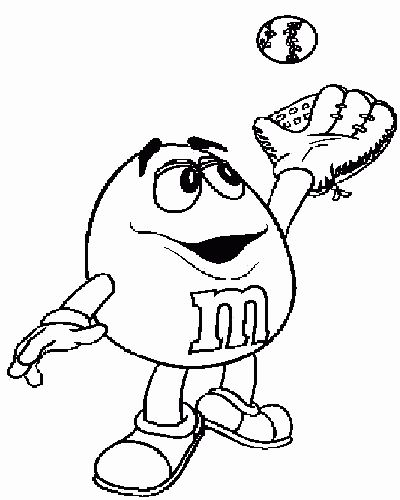 M ms coloring pages