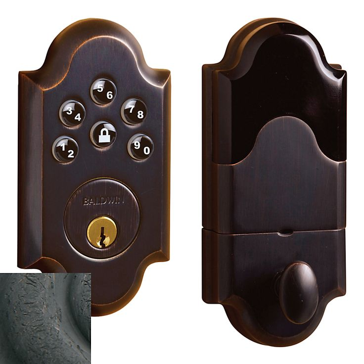 Boulder AC Zigbee Deadbolt (8252.402.AC2)  BATTERY OPERATED KEY PAD ENTRY FOR FRONT DOOR-COMES IN SEVERAL FINSIHES