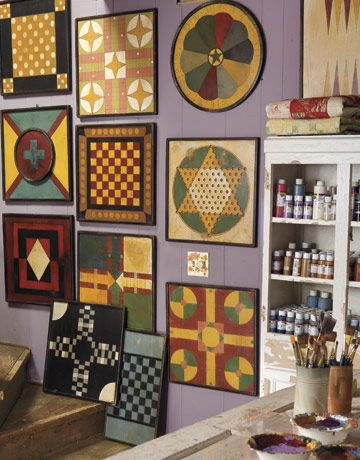 More graphic game boards by Diane Allison