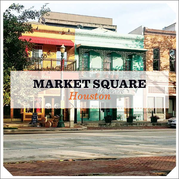 Houston's Market Square is one of the state's most historic spots. It's also one of the hippest places in the country to get a drink. Here's your curated guide to enjoying urban life inside the Loop.