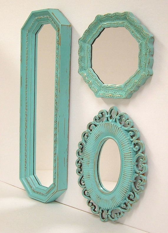 Turquoise Wall Mirror 174 best decorative wall mirrors images on pinterest | decorative