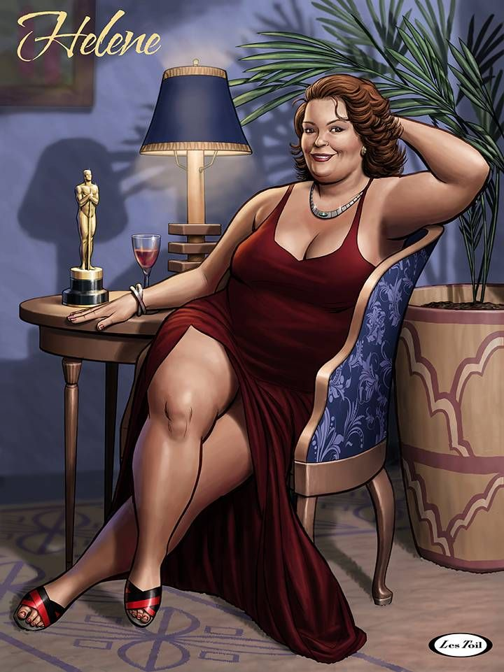 Bbw pin up art photos
