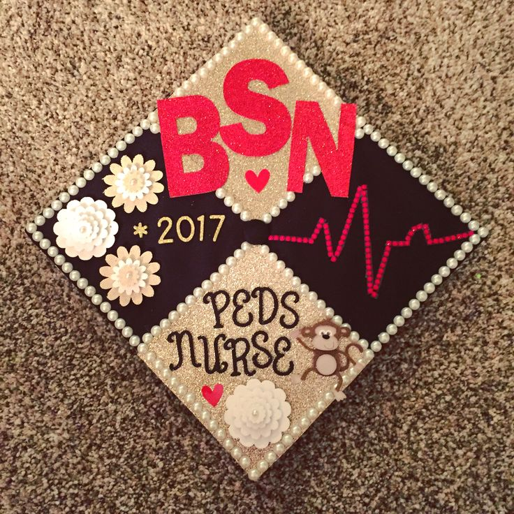 Nursing graduation cap pediatrics