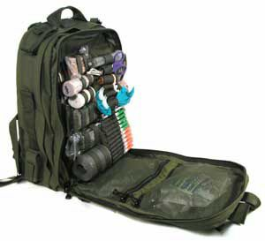 Medical Bag, I have a stomp med bag like this. It has about everything you need to help survive in a extreme emergency