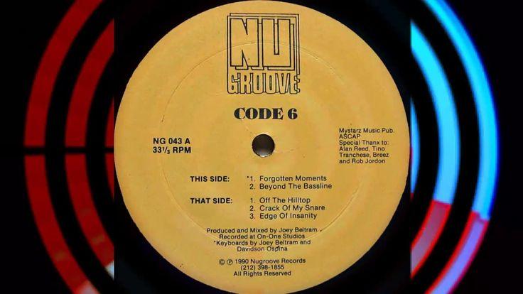 Code 6 (Joey Beltram) - Forgotten Moments | 90s TECHNO