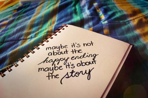 Maybe: The Journey, Life Quotes, The Notebooks, Food For Thoughts, Happy End, Truths, Memories, Inspiration Quotes, Stories Time