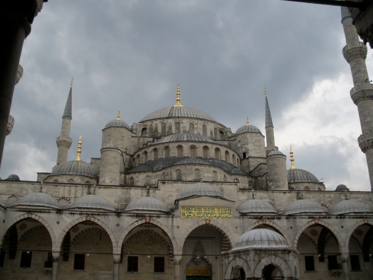 Another photo of the blue mosque