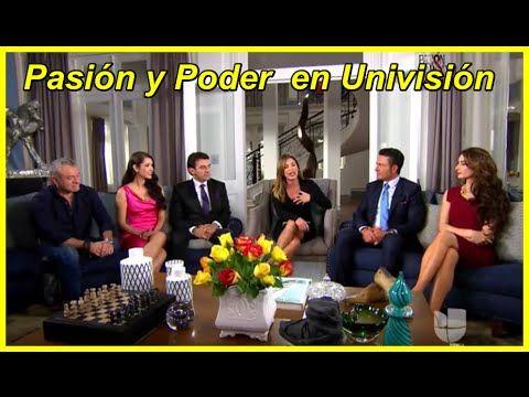 Pasion y poder en Univision - YouTube