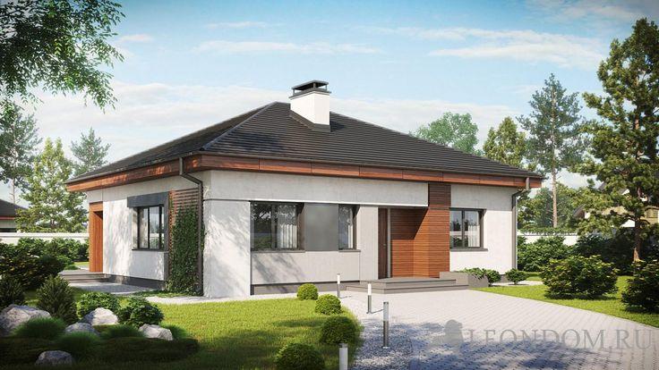 Проекты каменных домов от 69,7 м2 - Строительство деревянных и каменных домов 8-9852240745.