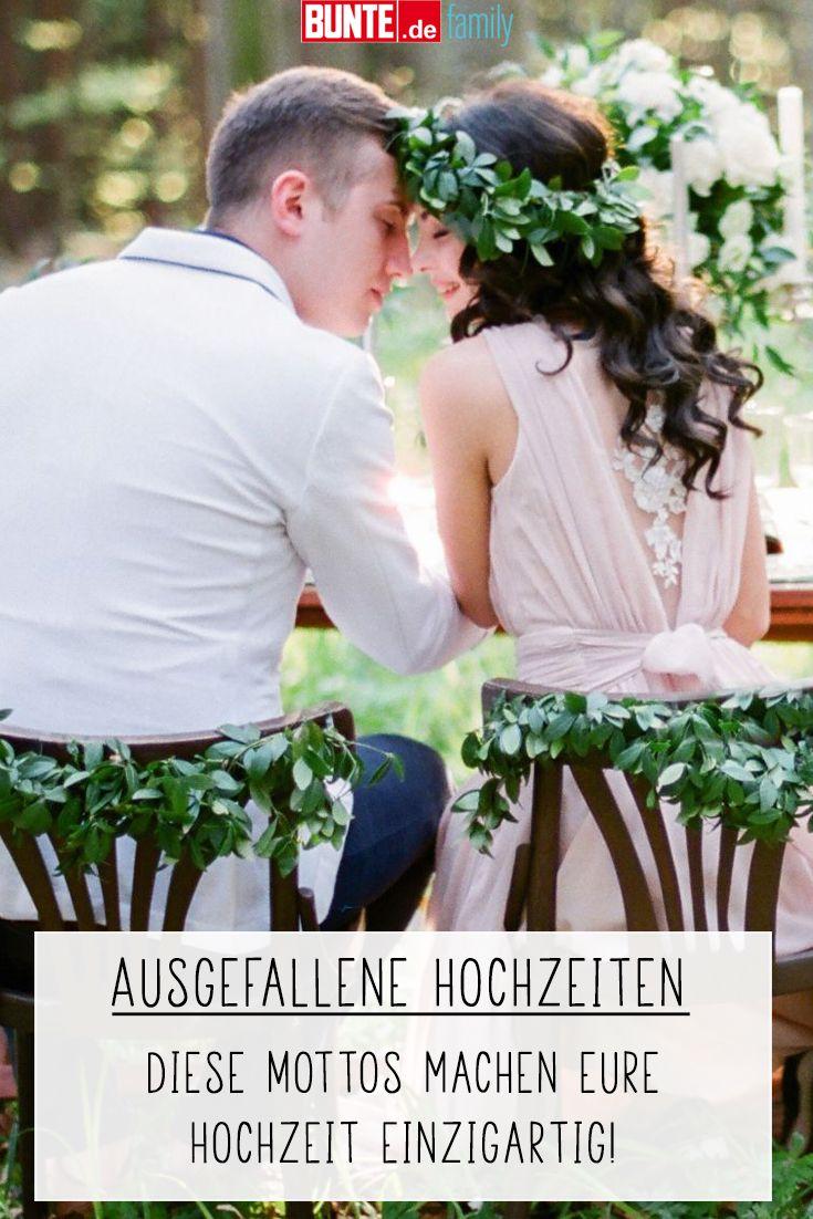 Ausgefallene Hochzeiten Diese Mottos Machen Euren Grossen Tag Einzigartig Hochzeit Hochzeit Motto Heiraten