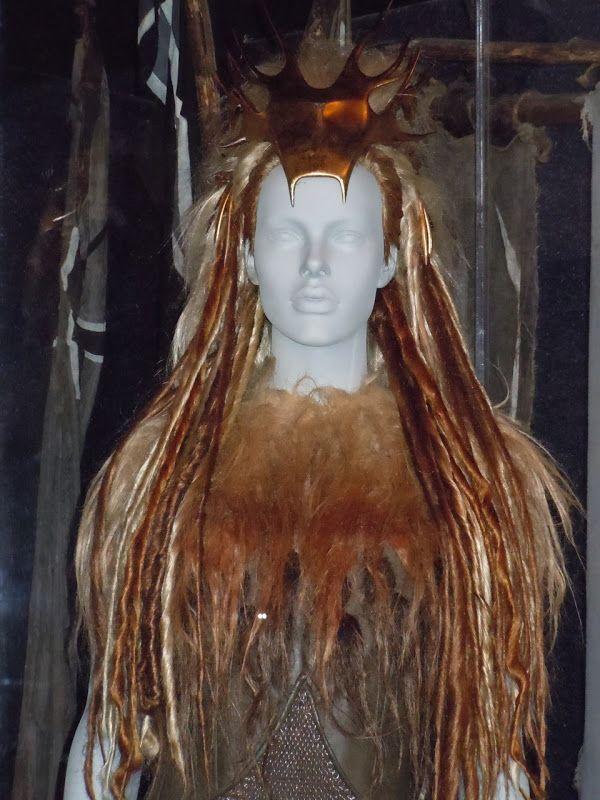 """Vestuario de Tilda Swinton como, Jadis, la Bruja Blanca, de """"Las Crónicas de Narnia. El león, la bruja y el ropero"""""""