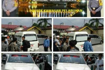 Jasad Pelajar Pelayaran Tenggelam di Sungai Siak Dipulangkan ke Aceh