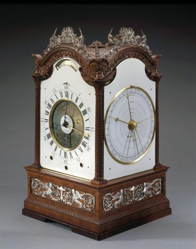 Astronomical clock | Royal Collection Trust - Made for George III, 1765