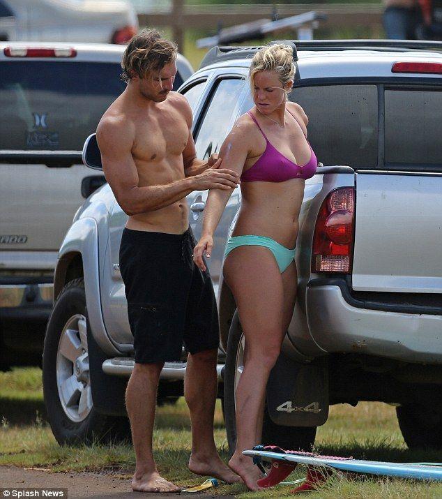 bethany hamilton and adam dirks | The couple who surfs together! Bethany Hamilton and fiancé Adam Dirks ...