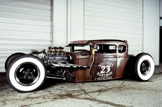 Ford A-bone rat rod                                                                                                                                                                                 More