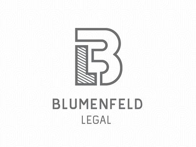 Blumenfeld Legal (BL) Logo