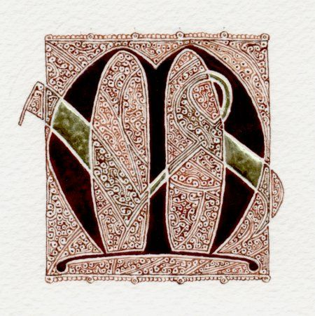 Initial M  repined by Dara Medes