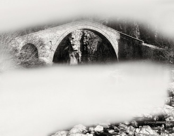 foggy old bridge in epirus   by George Xourafas on 500px www.gxsight.com #GXSIGHT #PHOTOGRAPHY #ART #PRINTS